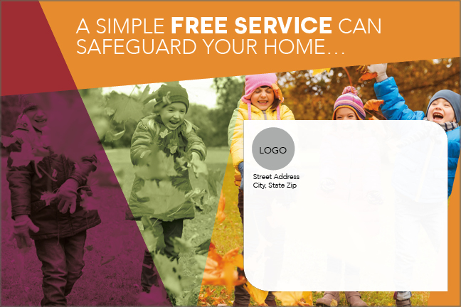 Safeguard Your Home Card Outside