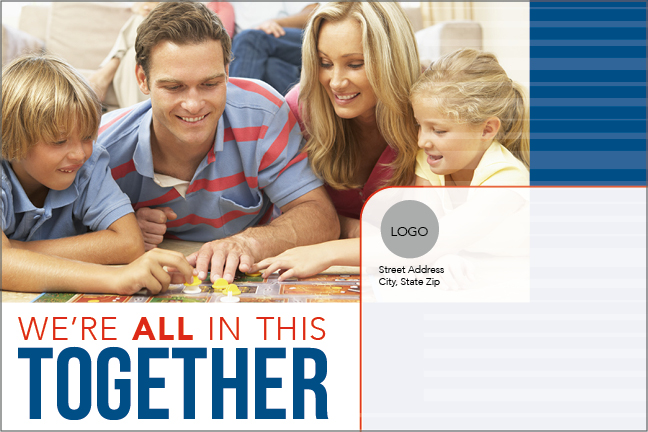 We're All In This Together Card Outside